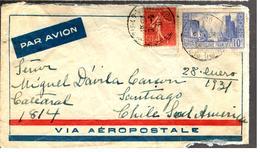 27843 - Via AEROPOSTALE - 1921-1960: Moderne
