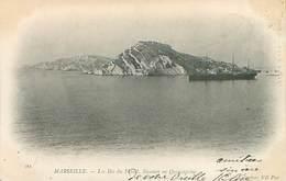 Marseille - Les Iles Du Frioul - Steamer En Quarantaine - Paquebot   Q 851 - Marseille
