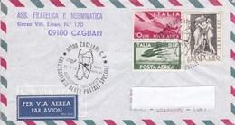 Tematica Filatelia Cagliari Collegamento Aereo Postale Speciale 29-9-73 - Non Classificati