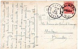 OC66 Sur CV De Malmédy Vers Bruxelles - WW I