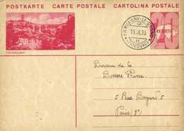 Entier Postal 20 HELVETIA FRIBOURG   + Beau Cachet FARVAGNY LE GRAND  (FRIBOURG)   RV - Entiers Postaux