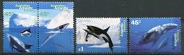 Australien Antarktis Mi# 102-5 Postfrisch MNH - Whales - Australisches Antarktis-Territorium (AAT)