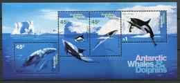 Australien Antarktis Mi# Block 1 Postfrisch MNH - Whales - Australisches Antarktis-Territorium (AAT)