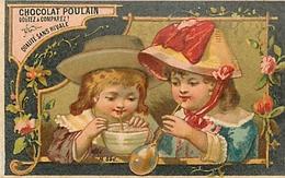"""BEAU CHROMO - CHOCOLAT POULAIN - """"LES BULLES"""" . - Poulain"""