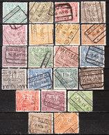 TR79/99  Emission De Londres - Série Complète - Oblit. - LOOK!!!! - 1915-1921