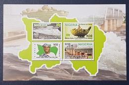 NIGERIA 2011 SHEET IMPERF - BENUE STATE BRIDGE BRIDGES WATERFALL FOOD - RARE MNH - Nigeria (1961-...)