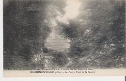 ERMENONVILLE . CP Voyagée Le Parc Le Pont De La Rêverie - Ermenonville