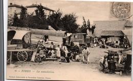 Nîmes 1904 - La Consolation - Gitans Et Roulottes - édit Maison Universelle & Nouvelles Galeries 45 - Nîmes