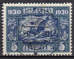 IC021 – ISLANDE – ICELAND – 1930 – MILLENARY OF THE ALTHING – SG # 159 USED 9 € - 1918-1944 Administration Autonome