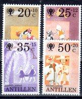 Antillen 1979 Mi. 401-404 ** Jahr Des Kindes Postfrisch (5098) - Antillen