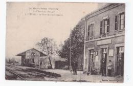CITERS - La Gare De Citer-Quers  (carte Animée) - France