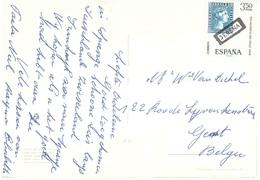 CARTOLINA PER BELGIO DIA MUNDIAL DEL SELLO 1968 - Francobolli Su Francobolli