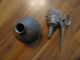 RARE: Grenade OF Et Son Allumeur BR 24 - 1939-45