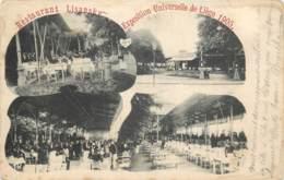 Belgique - Liège - Restaurant Lisansky à L'Exposition De 1905 - Liège