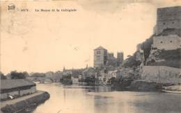 Huy - La Meuse Et La Collégiale - Ed. Legia - Huy