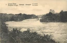 Congo Belge - Entier Postal N° 3 - 5Cts Vert - Katanga - Kisengwa - Le Lomami - Congo Belge - Autres