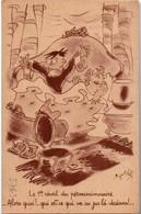 CPFM 1940 -  édit. ABC - Le 1er Réveil Du Permissionnaire - Julhes - Postmark Collection (Covers)