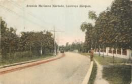 Mozanbique - Lourenço Marques - Maputo - Avenida Marianno Machado - Tram - Mozambique