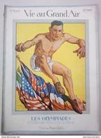 1919 LA VIE AU GRAND AIR N° 844 - LES OLYMPIADE - ATHLETISME - RUGBY - BOXE - ESCRIME - SAUT À LA PERCHE ETC..... - 1900 - 1949