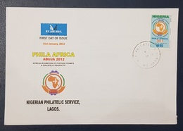 NIGERIA FDC - 2012 PHILA AFRICA - RARE - Nigeria (1961-...)