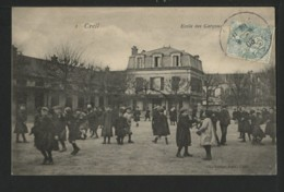 60 CREIL - Ecole Des Garçons - Creil