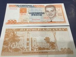 CUBA  200 Pesos.   Dated 2010. P130.    UNC - Cuba