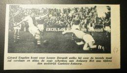 Gantoise-Antwerp : Voetbal 1947 - Documents Historiques