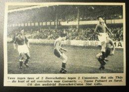 Beerschot-Union Sint Gillis : Voetbal 1947 - Documents Historiques