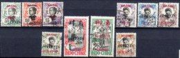 Mong-Tzeu: Yvert 51/65°; 10 Valeurs - Used Stamps
