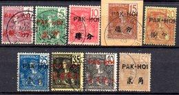 Packoi: Yvert 19/28°; 9 Valeurs - Used Stamps