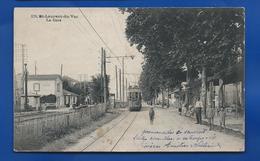 SAINT-LAURENT-du-VAR    La Gare    Animées      Animées   écrite En 1919 - Saint-Laurent-du-Var