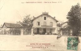 CPA -61 - HOTEL DE LA TERRASSE - Pasquis N°134 - Rare . - Non Classés