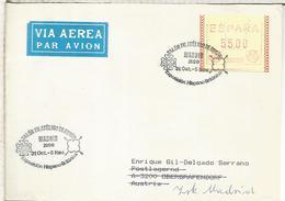 ESPAÑA EXPOSICION HISPANO BRITANICA CON ATM FRAMA PERFORADO PERFIN - 1931-Aujourd'hui: II. République - ....Juan Carlos I