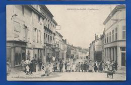 SERMAIZE-les-BAINS   Rue Bénard   Animées      Animées - Sermaize-les-Bains