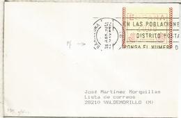 ESPAÑA ATM FRAMA  1990 - 1981-90 Briefe U. Dokumente
