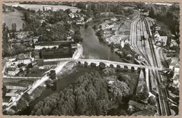 16 / CHATEAUNEUF - Vue Aérienne - Gare, Charente, Pont (années 50) - Chateauneuf Sur Charente