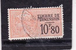 T.F De Dimension N°129 - Revenue Stamps