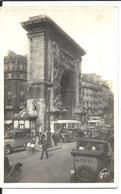 AGENT De VILLE Faisant La Circulation - Animée PARIS 1938 Porte St Denis - VENTE DIRECTE X - Polizei - Gendarmerie