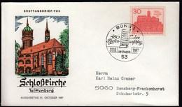 Germany Bonn 1967 / 450 Jahrestag Des Thesenanschlags Durch Martin Luther, Schlosskirche Wittenberg - Martin Luther King