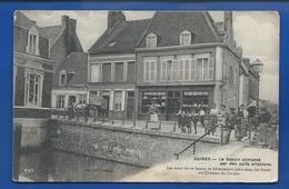 GUINES    Le Bassin Alimenté Par Des Puits Artésiens        Animées   écrite En 1916 - Guines