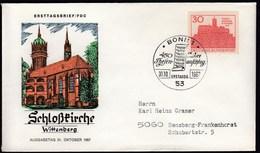 Germany Bonn 1967 / 450 Jahre Des Thesenanschlags Durch Martin Luther, Schlosskirche Wittenberg - Martin Luther King