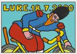 Cpm 1741/516 ERGON - Lure -Sapeur Camember - Tour De France 2020 - Vélo - Cyclisme - Bicycle - Illustrateur - Ergon