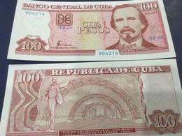 CUBA  100 Pesos.  Date 2001. P124.   UNC - Cuba