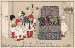 Pauli EBNER - Herzliche Neujahrsgrüsse - Ebner, Pauli