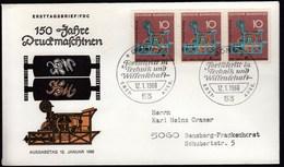 Germany Bonn 1968 / Fortschritt In Technik Und Wissenschaft Druckmaschine - Fabbriche E Imprese