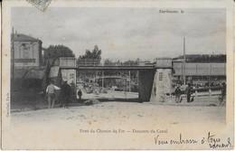NARBONNE : Pont Du Chemin De Fer - Descente Du Canal  ( 1902 ?) - Narbonne