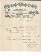 Haute Garonne 31 Toulouse Pierre Paul Fontas Plumeaux Goupillons, Brosserie 1903 - 1900 – 1949