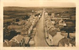 29 Guipavas, La Route De Brest Prise Du Clocher, Beau Visuel Pas Courant - France