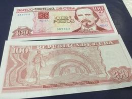CUBA  100 Pesos.  Date 2013  . P129e.  UNC - Cuba