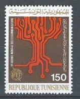 "Tunisie YT 845 "" Télécommunications "" 1977 Neuf** - Tunisia (1956-...)"